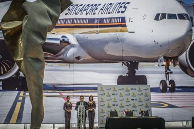 Canberra international flights: Singapore Airlines launches Capital Express route