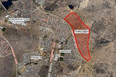 Throsby land sells for almost $17 million at auction in Canberra