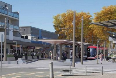 Light rail to hit Canberra tracks for testing from January