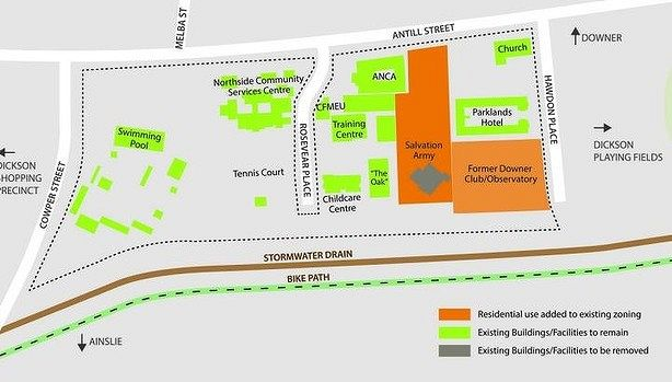 ACT government set to redevelop Dickson land for more apartments