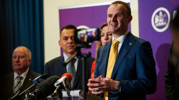 Andrew Barr offers home owners rates breather in election year