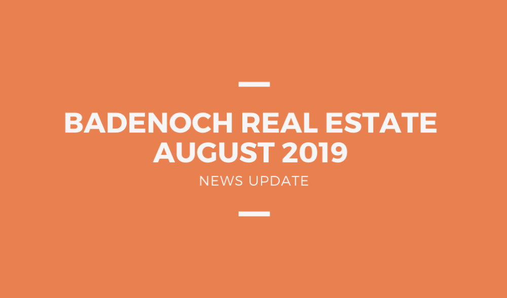 Badenoch Newsletter - August 2019