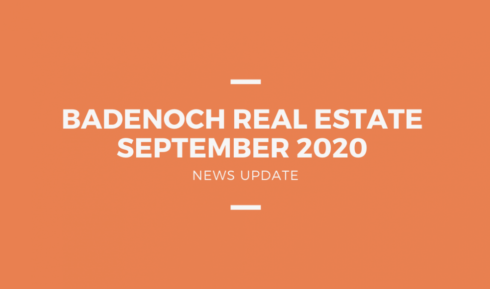 September 2020 - Badenoch Newsletter