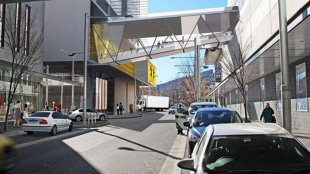A Bridge To Nowhere - Canberra Centre Owners Delay Pedestrian Bridge